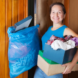 Disposing of Old Items Can Make Your Move Simpler